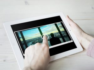 iPad real estate video